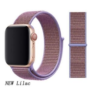 *NEW Lilac Purple Sport Loop Strap For Apple Watch